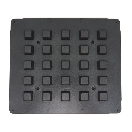 Maxima Tartlet Mould - Square - 39/29 mm - 25 pieces
