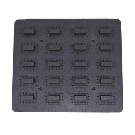 Maxima Tartlet Mould - Rectangle - 64x41/45x22 mm - 20 pieces