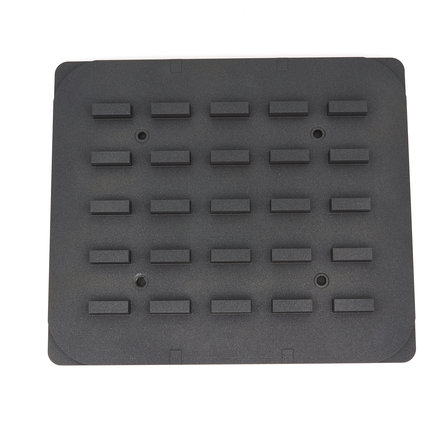 Maxima Tarteletteform - Rechteck - 50x23/42x17 mm - 25 stuks