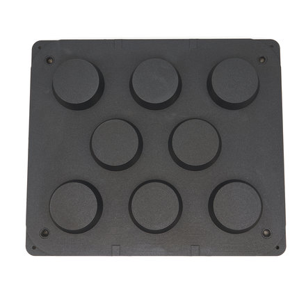 Maxima Tartlet Mould - Waved  - 84/71 mm - 8 pieces