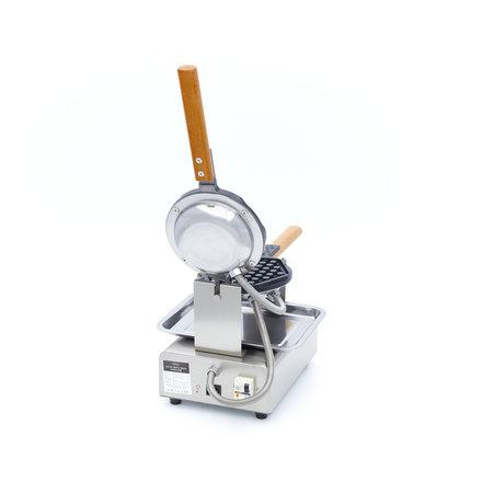 Maxima Gastro Waffeleisen Waben - 1 Stück - 175 x 200 mm (je Waffel) - mit Timer - 1500 Watt