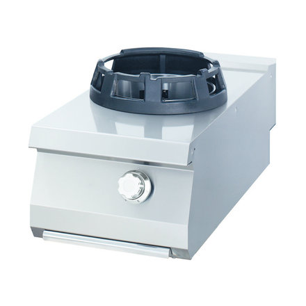 Maxima Gastro Wok Gasbrenner Einzel - Gas - 800 x 900 mm tief - 14000 Watt