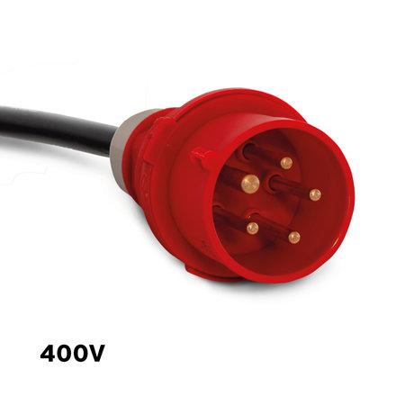 Maxima Horeca Vaatwasser 50x50cm Korf met Glansspoelpomp – 400V