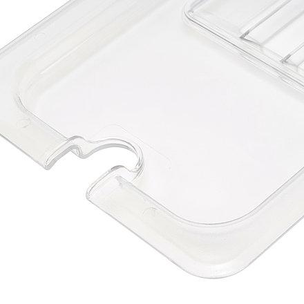 Maxima GN-Deckel - 1/3 GN - Polycarbonat - mit Aussparung