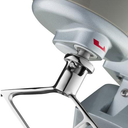 Maxima Planetenrührmaschine - Silber - 7 l - 100 bis 938 RPM - 350 Watt