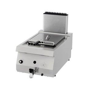 Maxima Heavy Duty Gas Fryer 1 x 12L con rubinetto