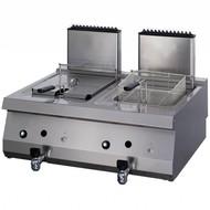 Maxima Heavy Duty Gas Fryer 2 x 12L con rubinetto