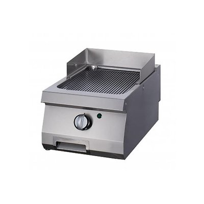 Maxima Heavy Duty Griddle Grooved Chrome - Single - Gas