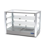 Maxima Stainless Steel Hot Display - 3 Levels - 70 cm - 115L