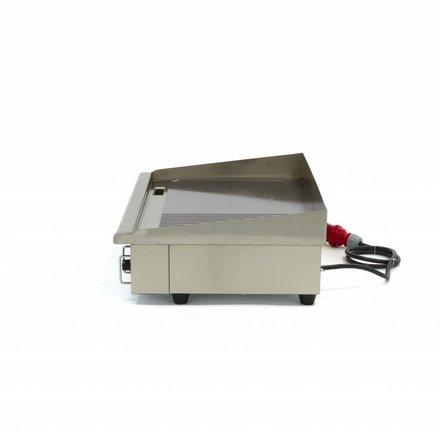 Maxima Gastro Grillplatte - Halb/Halb - 73 cm - mit Spritzschutz - 4400 Watt - 400 V
