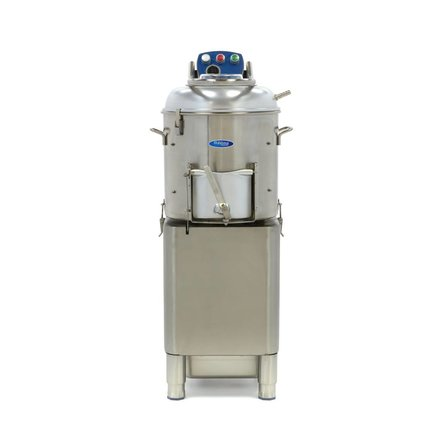 Maxima Schälmaschine Kartoffelschäler - 20 kg - 400 kg/h - mit Wasseranschluss - 950 Watt