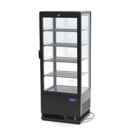 Maxima Refrigerated display 98L Black