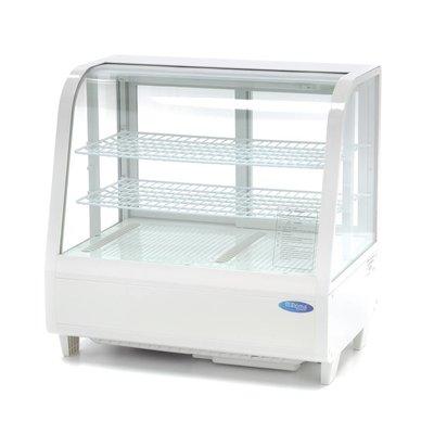 Maxima Vitrine Froide 100L Blanc