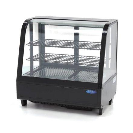 Maxima Kühlvitrine - Schwarz - 100 l - 0 bis 12 °C - 160 Watt