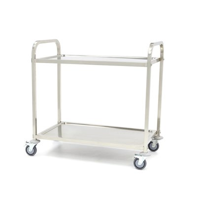 Maxima Stainless Steel Serving Trolley 2