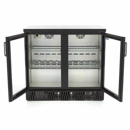 Maxima Deluxe Barkoeler / Displaykoeler / Flessenkoeler 2 Klapdeuren
