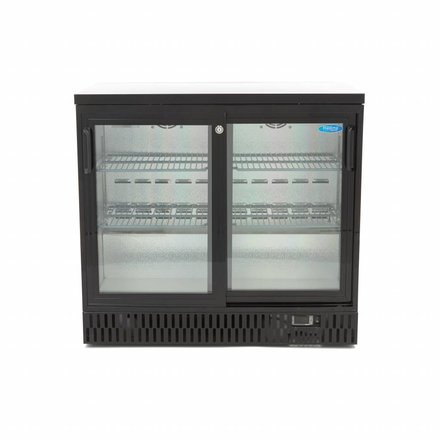 Maxima Deluxe Bar Kühlschrank / Flaschen Kühler BCS 2