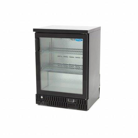 Maxima Barkühlschrank Flaschenkühler - Schwarz - 142 l - 0 bis 12 °C - mit 1 Drehtür - 174 Watt