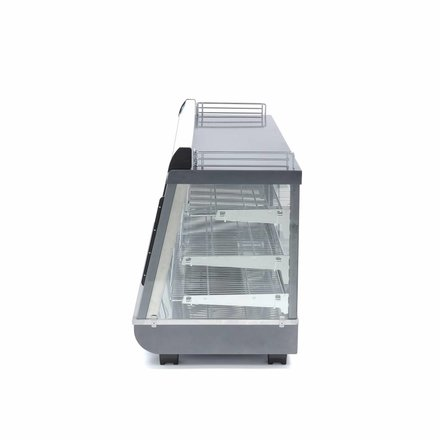 Maxima Stainless Steel Hot Display 186L