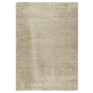 Hoogpolig vloerkleed beige 30 mm