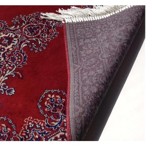 Klassiek vloerkleed rood/wit