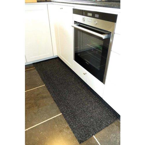 Keukenloper op maat antraciet 66 cm breed