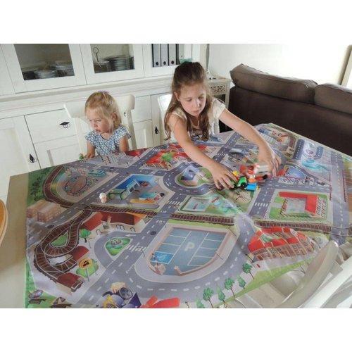 Speelkleed voor tafel verkeer