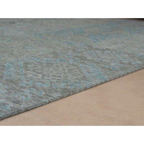 Vintage vloerkleed lichtblauw