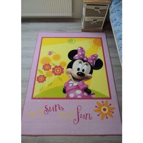 Kindervloerkleed Minnie Mouse