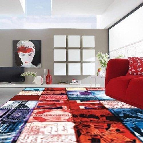 Modern vloerkleed patchwork