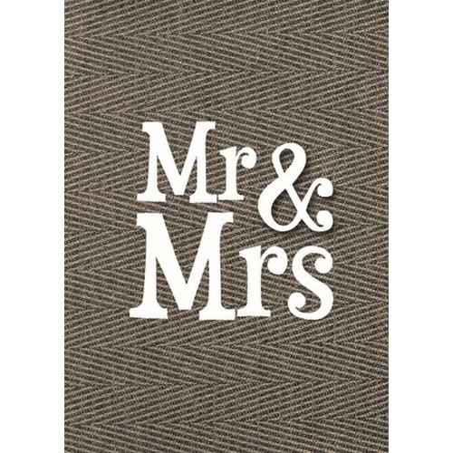Modern vloerkleed Mr.& Mrs.