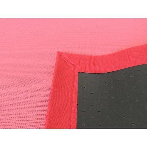 Vloerkleed buiten rood/roze