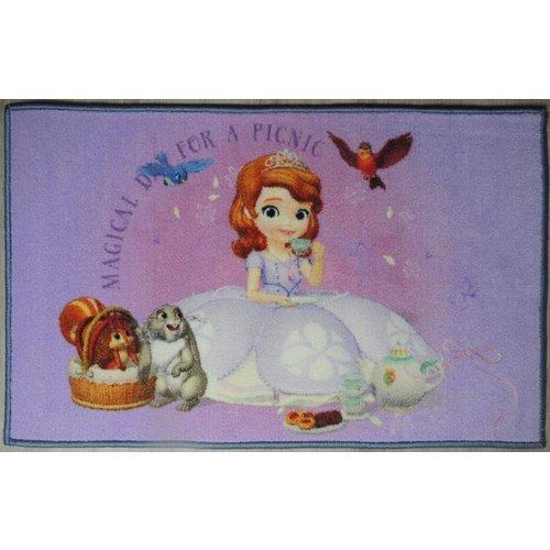 Kindervloerkleed prinses Sofia