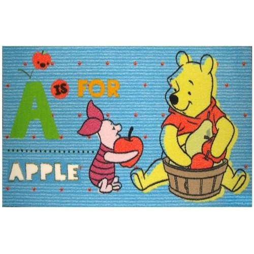 Kindervloerkleed Winnie the Pooh en Knorretje