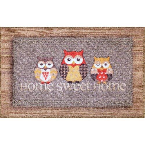 Deurmat home sweet home uilen