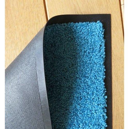 Ecologische droogloopmat turquoise