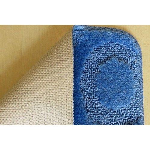 Badmat set blauwtinten