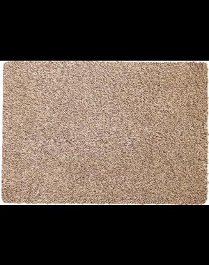 Katoenen droogloopmat op maat beige 58cm, ecologisch