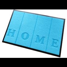 Ecologische deurmat blauw Home