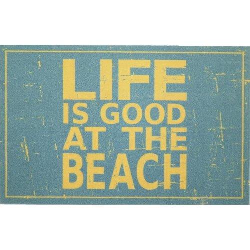 Deurmat Life is good at the beach