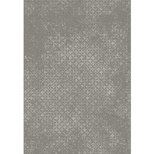 Grijs vloerkleed met vintagelook