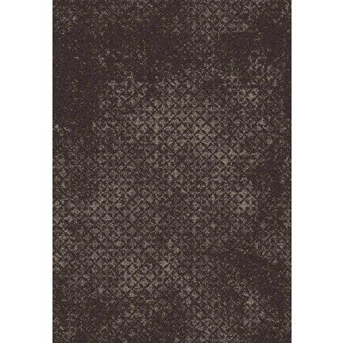Grijs/bruin vloerkleed met vintagelook
