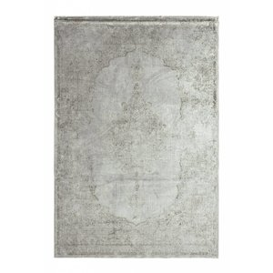 Viscose vloerkleed met klassiek dessin