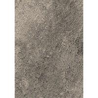 Hoogpolig vloerkleed grijs, 35 mm, op maat