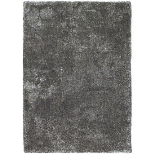 Hoogpolig vloerkleed grijs, 25 mm, op maat
