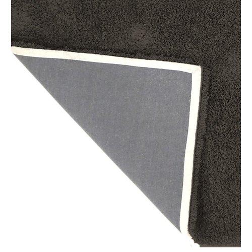 Hoogpolig vloerkleed bruin, 45 mm, op maat