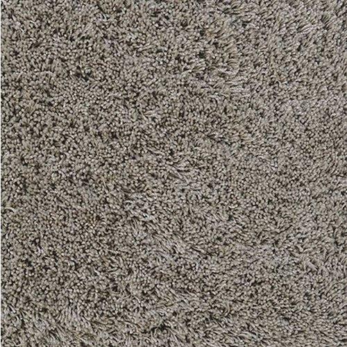 Hoogpolig vloerkleed grijs/beige, 45 mm, op maat
