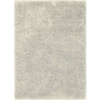 Hoogpolig vloerkleed wit/beige, 45 mm, op maat