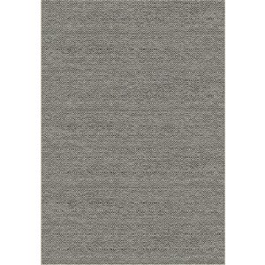 Vloerkleed voor buiten en binnen, ivoor zilver/grijs