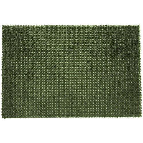 Schrapende grasmat groen